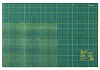 Коврик для раскройных ножей, зеленый цв. см-дюйм 60 х 90 см