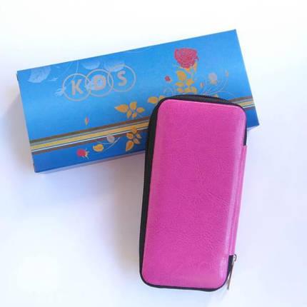 Манікюрний набір KDS 7105 (рожевий чохол), фото 2