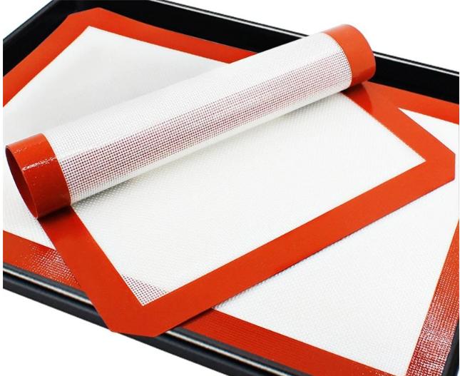 Антипригарные силиконовый коврик для выпечки
