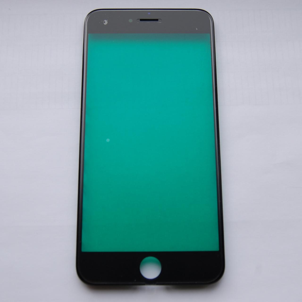 Скло корпуса Apple iPhone 6S Plus з рамкою Black