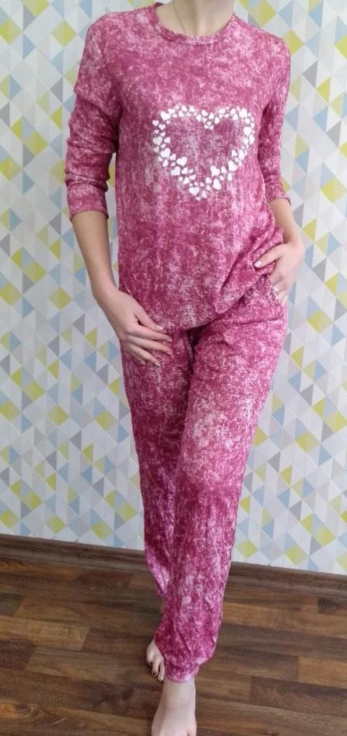 Домашний костюмчик-пижама  Сердце