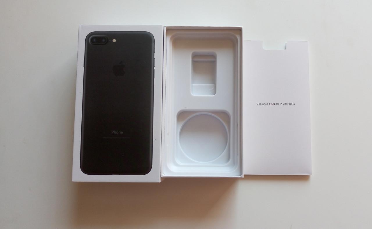Коробка  Apple iPhone 7 Plus Black