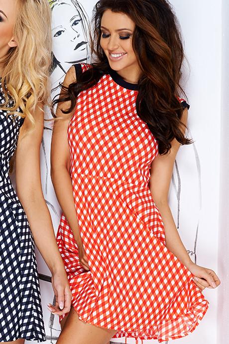 Платье Pigeon PI-111 Красно-белый
