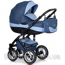 Дитяча універсальна коляска 2 в 1 Riko Brano  02 Denim blue