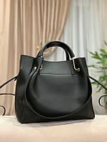 Женская сумка глиттер + косметичка,большая, фото 2