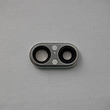 Скло камери Novacel для Apple iPhone 8 Plus Silver