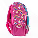 Рюкзак каркасный H-11 Unicorn blue, 33.5*26*13.5, фото 3