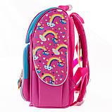 Рюкзак каркасный H-11 Unicorn blue, 33.5*26*13.5, фото 4