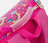 Рюкзак каркасный H-11 Unicorn blue, 33.5*26*13.5, фото 6