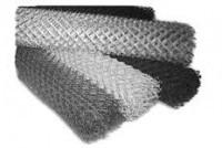 Сетка Рабица черная 1 м (ячейка 60 мм)