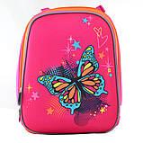 Рюкзак каркасный H-12 Butterfly blue, 38*29*15, фото 2