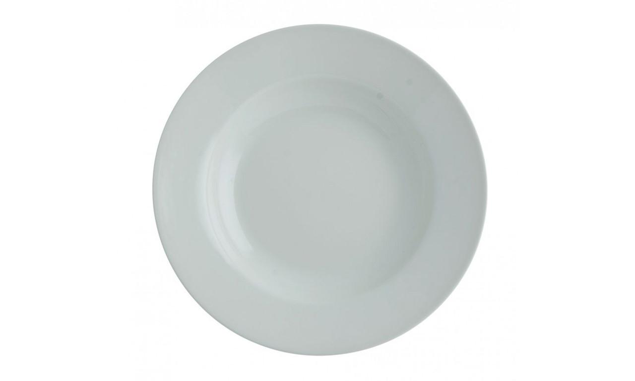 "Тарелка глубокая круглая ""Aspen"" 22.5см/350мл фарфоровая FoREST"