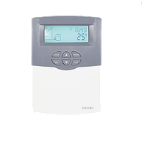 Моноблочный контроллер для гелиосистем под давлением СК208C