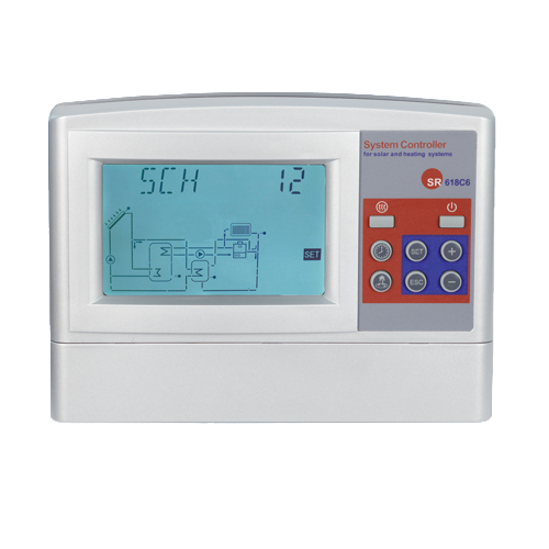 Моноблочный контроллер для гелиосистем под давлением СК618C6