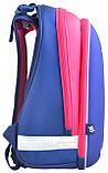 Рюкзак каркасный H-12 Owl blue, 38*29*15, фото 2