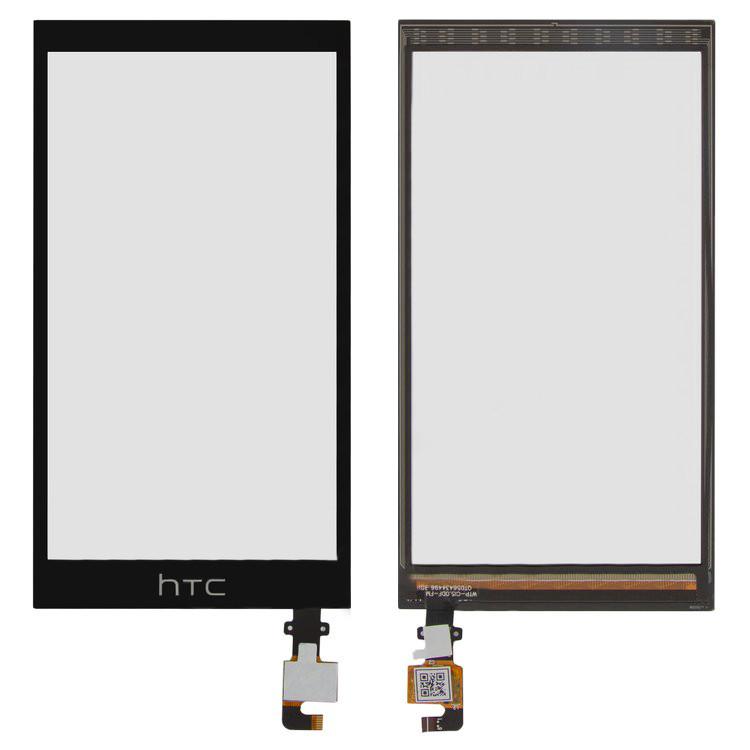 Тачскрин HTC Desire 620G Dual Sim черный (сенсорный экран, стекло в сборе)