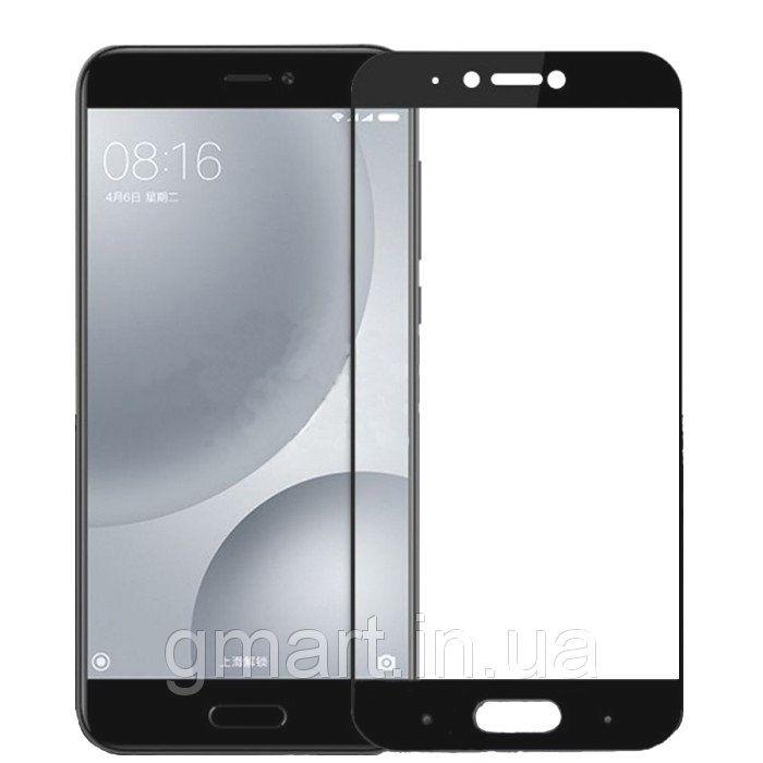 Защитное стекло дисплея Xiaomi Mi5s (0,3 мм, 2.5D) черное, Захисне скло дисплея Xiaomi Mi5s (0,3 мм, 2.5D) чорне