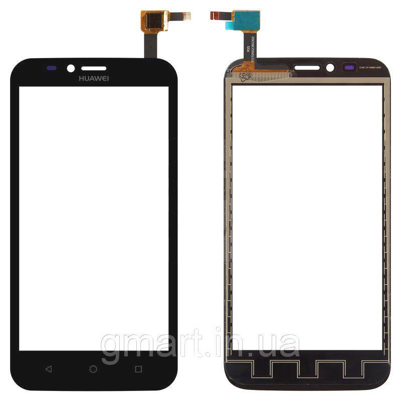 Сенсорный экран Huawei Ascend Y625 черный (тачскрин, стекло в сборе), Сенсорний екран Huawei Ascend Y625 чорний (тачскрін, скло в зборі)