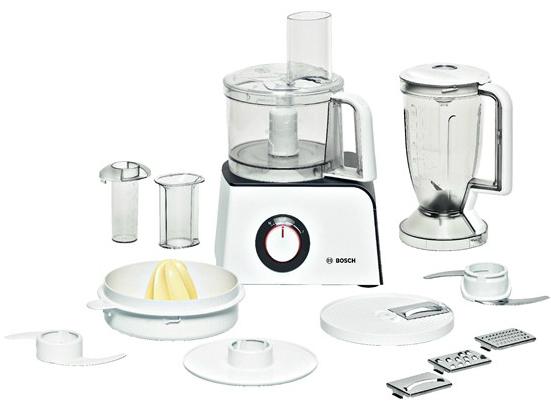 Кухонный комбайн Bosch MCM 4100 + MCZ4RS1 ( 800Вт, 2.3л чаша,белый)