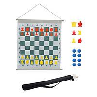 Демонстрационная шахматная доска с фигурами, магнитная | 80 мм