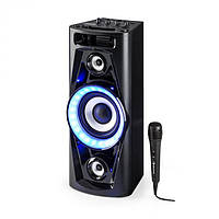 Портативная Аудио система колонка караоке auna Pulse V6-40  Германия