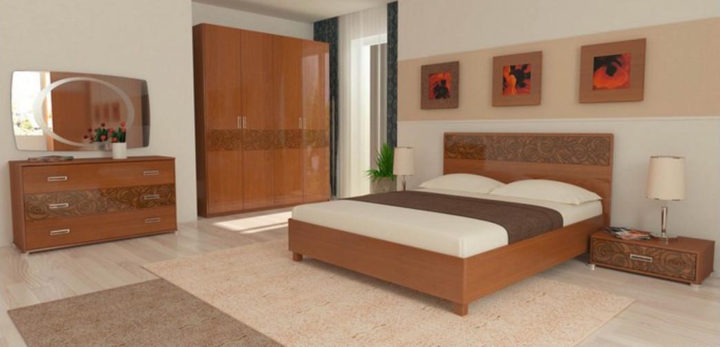 Спальня Флора (Вишня Бюзум)