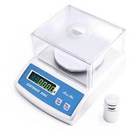 Весы для лабораторий 6002-600а, электронные, 0,01/600 г, обнуление тары, измерение количества, питание 220в
