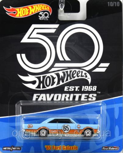 Коллекционная машинка Hot Wheels Ford Galaxie 65