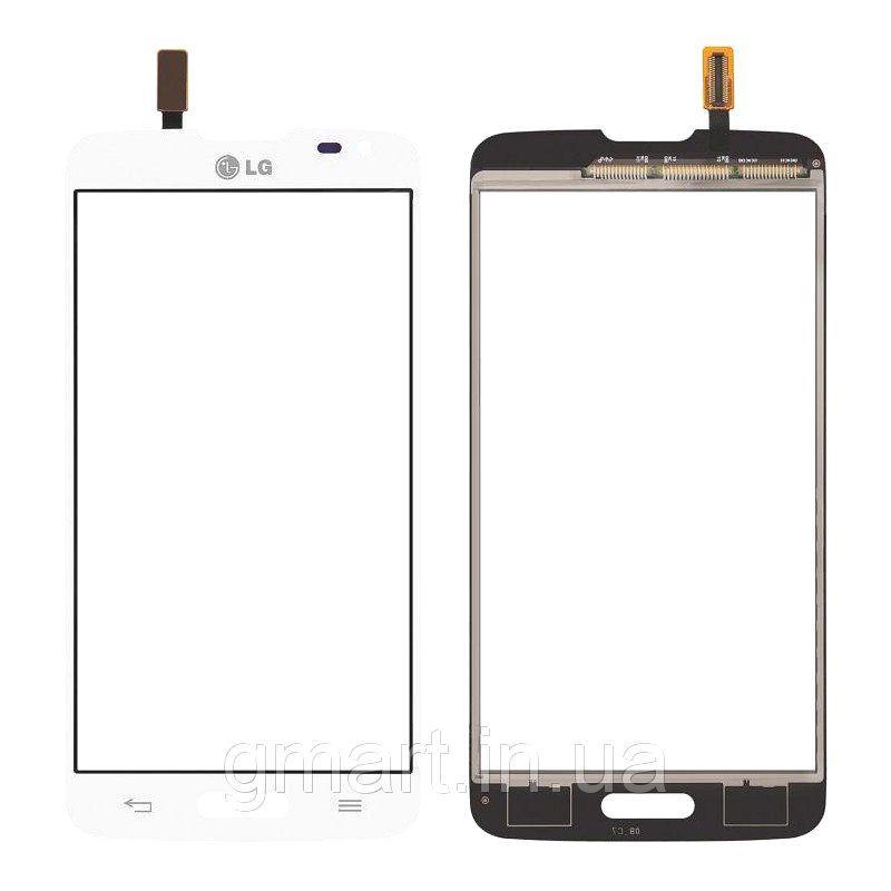 Сенсорный экран LG D405 Optimus L90 белый (тачскрин, стекло в сборе), Сенсорний екран LG D405 Optimus L90 білий (тачскрін, скло в зборі)