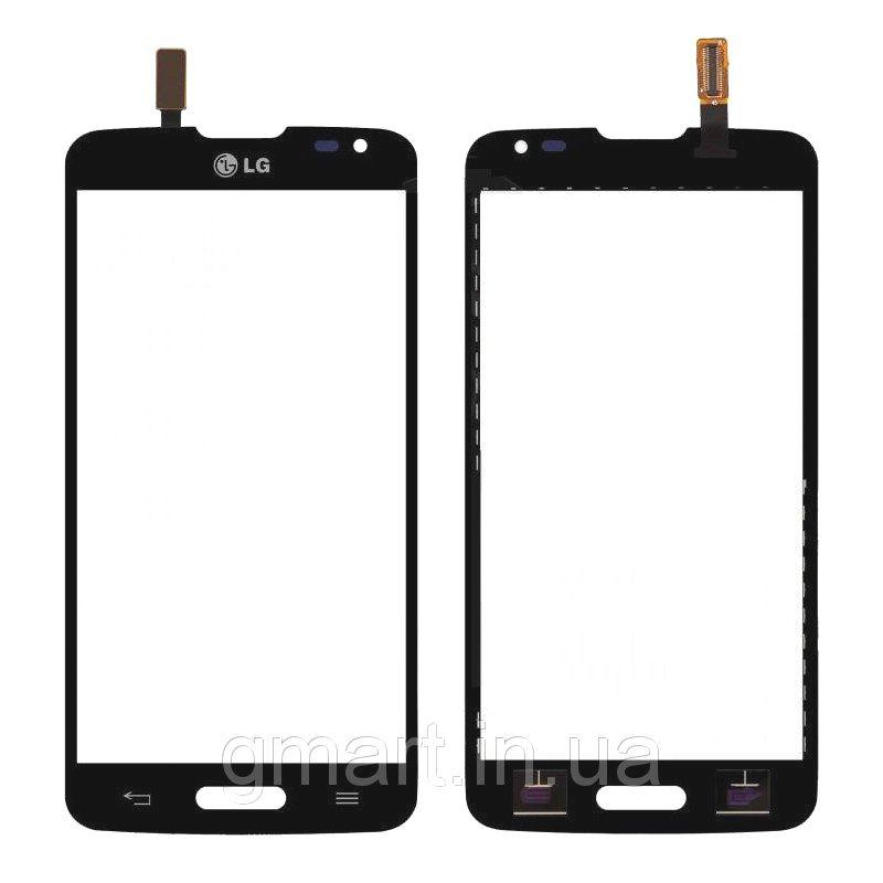 Сенсорный экран LG D405 Optimus L90 черный (тачскрин, стекло в сборе), Сенсорний екран LG D405 Optimus L90 чорний (тачскрін, скло в зборі)