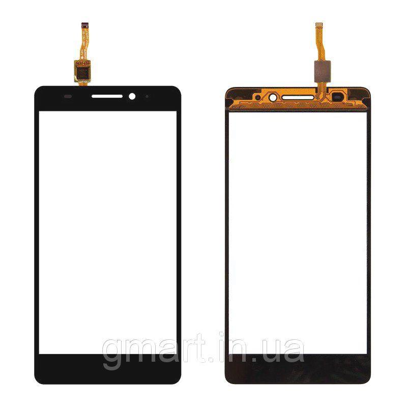 Сенсорный экран Lenovo A7000 черный (тачскрин, стекло в сборе), Сенсорний екран Lenovo A7000 чорний (тачскрін, скло в зборі)