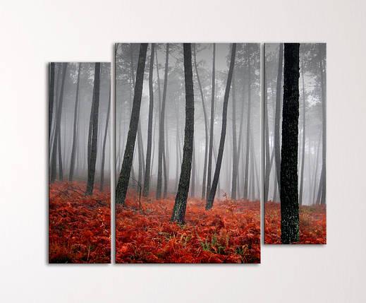 """Модульная картина """"Таинственный лес"""", фото 2"""