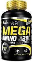 Амінокислоти (амінки) Mega Amino 3200 від BioTech USA
