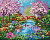 """Схема для полной вышивки бисером """" Японский сад """""""