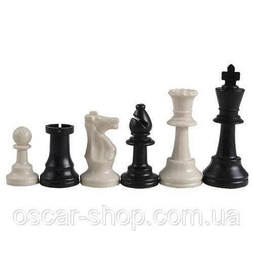 Шахматные фигуры Стаунтон без утяжелителя   97 мм