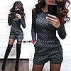 Стильный комбинезонс шортами и карманами джакард, фото 3