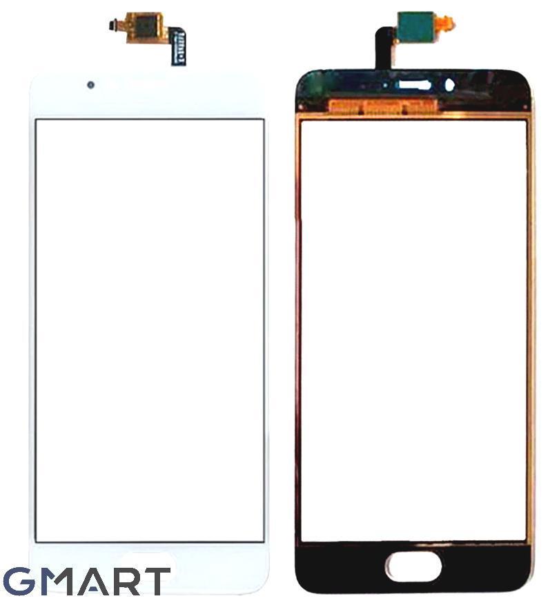 Сенсорный экран Meizu M5S белый (тачскрин, стекло в сборе), Сенсорний екран Meizu M5S білий (тачскрін, скло в зборі)