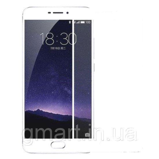 Защитное стекло дисплея Meizu M6 Note белое (0.3 мм, 2.5D), Захисне скло дисплея Meizu M6 Note біле (0.3 мм, 2.5D)
