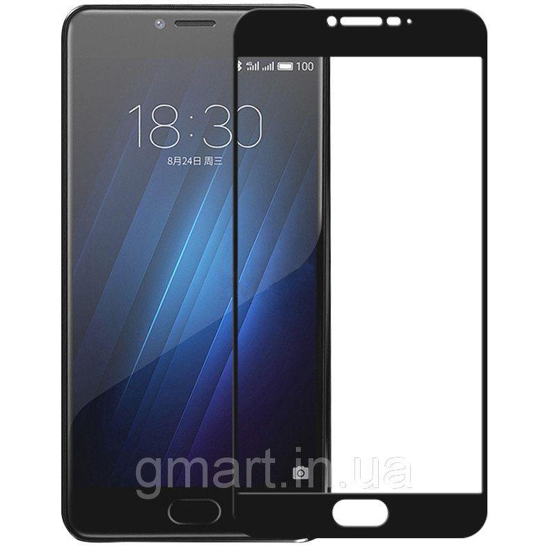 Защитное стекло дисплея Meizu U20 черное (0.3 мм, 2.5D), Захисне скло дисплея Meizu U20 чорне (0.3 мм, 2.5D)