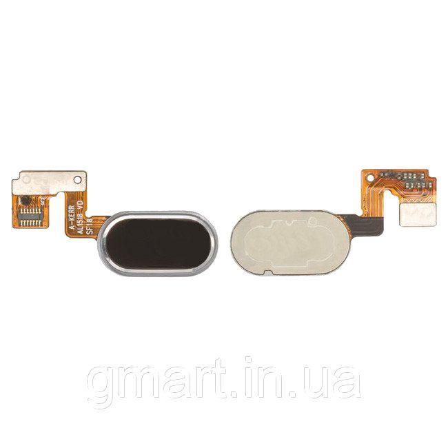 """Кнопка """"Home"""" Meizu M3 Note (L681H), 14pin черная со шлейфом (кнопка меню/назад), Кнопка """"Home"""" Meizu M3 Note (L681H), 14pin чорна зі шлейфом (кнопка"""