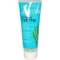 Успокаивающий антисептический гель с маслом чайного дерева *Jason (США)*, фото 1