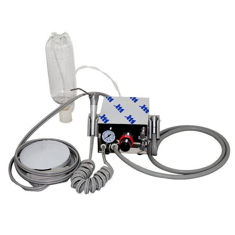 Портативная турбинная стоматологическая установка с автономной по...