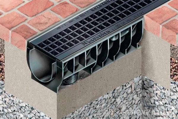 Дренажные системы водоотвода HAURATON TOP (Германия)