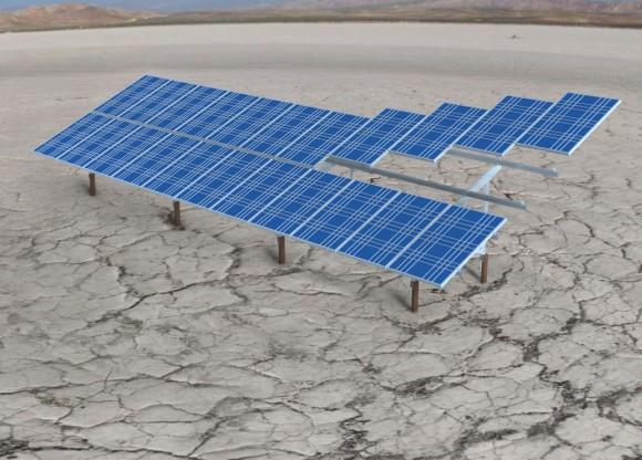 Крепления солнечных батарей на основе алюминия
