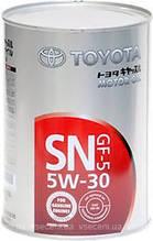 Моторное масло TOYOTA MOTOR OIL SN/GF-5 5W30 1л