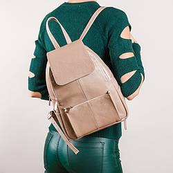 Рюкзак с карманами,пошив из натуральной кожи в любом цвете.