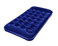 Надувний матрац Bestway + вбудований ножний насос 188х99х22 см (67224)