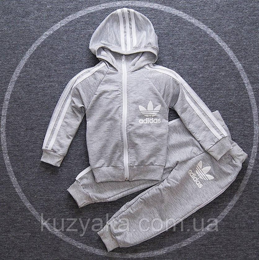 Спортивный детский костюм в стиле Adidas на рост 75-122 см