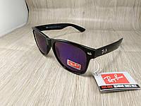 Солнцезащитные очки Ray Ban Wayfarer с синим зеркальным стеклом