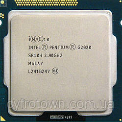 Процессор Intel Pentium G2020 s1155 2x2.9GHz бу